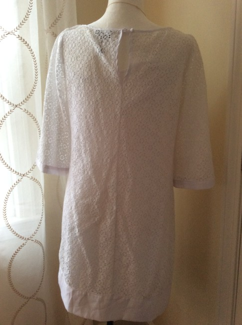 Laundry by Shelli Segal short dress White 3/4 Sleeve Lace on Tradesy