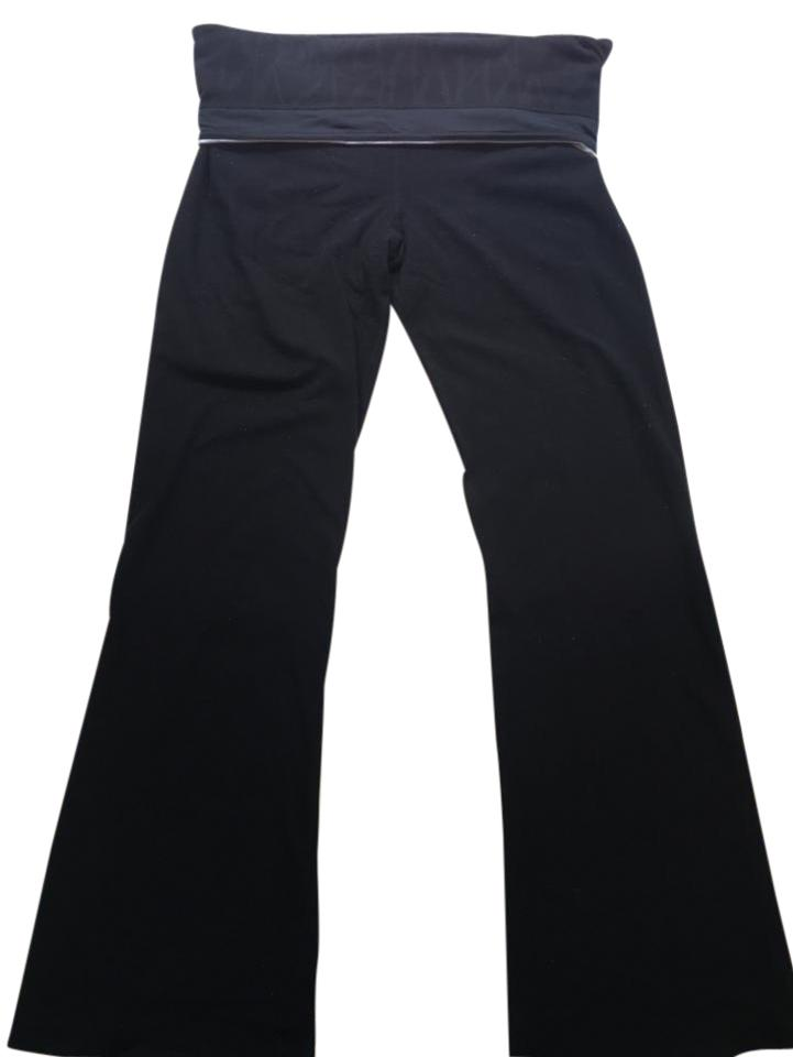 acc2edf94a Lululemon Black Roll-down Groove Activewear Bottoms Size 8 (M, 29 ...