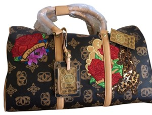 Sharif Brown with camel insignia Travel Bag