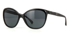 Chanel NEW Chanel 5309B Bijou Black Swarovski Cat Eye Sunglasses