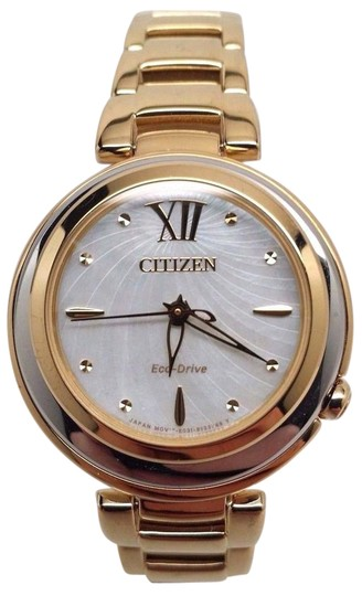 Preload https://img-static.tradesy.com/item/21259298/citizen-eco-drive-l-sunrise-gold-tone-mother-of-pearl-womens-em0334-54d-watch-0-1-540-540.jpg