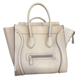 Céline Taupe Ce.k0527.04 Tan Calfskin Leather Tote in Dune