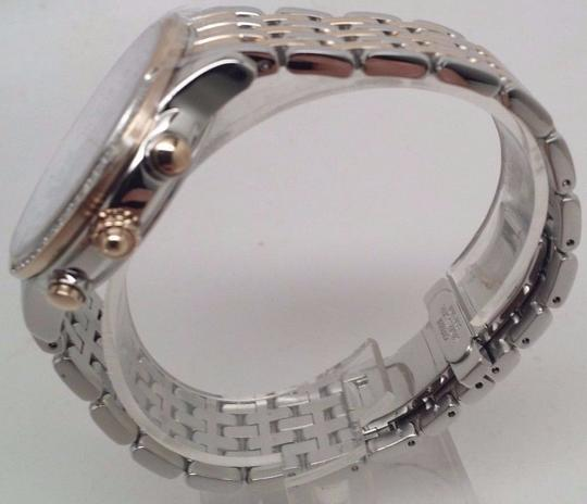Citizen Ladies Crystal 2Tone Chronograph Eco Drive Watch FC5006-55A