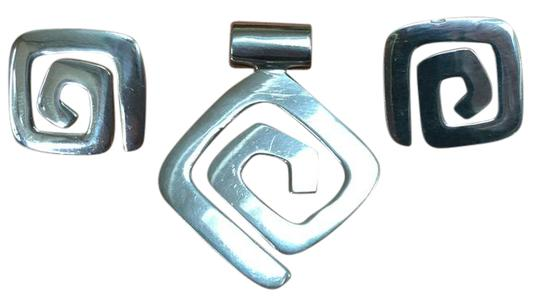 Preload https://item2.tradesy.com/images/silpada-silver-slide-charm-with-matching-earrings-21259366-0-1.jpg?width=440&height=440