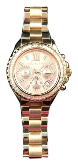 Preload https://item4.tradesy.com/images/michael-kors-rose-gold-everest-chronograph-glitz-watch-21259398-0-3.jpg?width=440&height=440