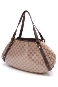 Gucci Tote in Beige/Ebony