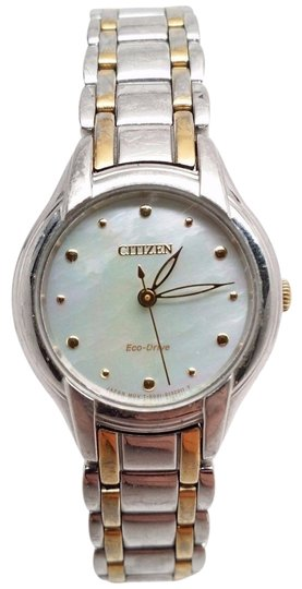 Preload https://item1.tradesy.com/images/citizen-eco-drive-ladies-silhouette-mop-em0284-51n-fits-64-watch-21259460-0-1.jpg?width=440&height=440