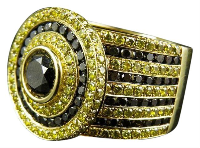 Jewelry Unlimited 10k Yellow Gold XL Mens Canary Black Solitaire Diamond Pinky 8.40 Ct Ring Jewelry Unlimited 10k Yellow Gold XL Mens Canary Black Solitaire Diamond Pinky 8.40 Ct Ring Image 1
