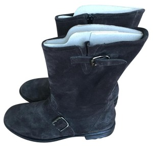 Paul Green Suede 5.5 Grey Boots