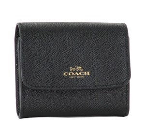 Coach COACH F54843 ACCORDION CARD CASE IN CROSSGRAIN LEATHER