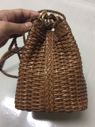 CEM Woven Leather Woven Leather Leather Shoulder Woven Shoulder Cross Body Bag
