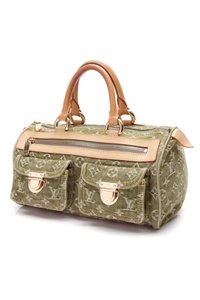 Louis Vuitton Satchel in Green