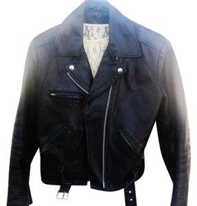 Billy Reid Rockabilly Leather Designer Bohemian Motorcycle Jacket