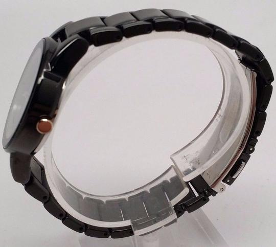 Ladies C itizen GA1055-57F Eco-Drive Axiom Black Stainless Steel Watch Fits 6.7