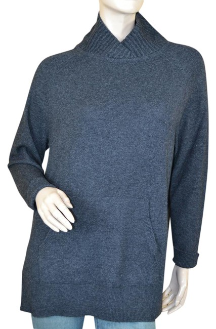 Preload https://item1.tradesy.com/images/vince-gray-oversized-wool-yak-sweaterpullover-size-2-xs-21259765-0-1.jpg?width=400&height=650