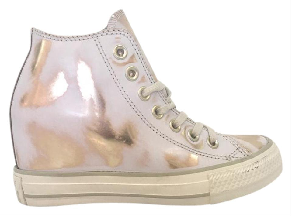 8ce5157c9938 Size Size Size Converse Wedge Wedge Wedge And Distressed Sneakers White Gold  Rose 0SqPRw0