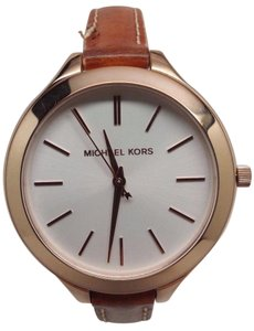Michael Antonio Kors Mid-Size Runway Rose Gold-tone Stainless Steel Ladies Watch MK228