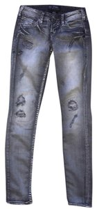 Silver Jeans Co. Skinny Jeans-Distressed