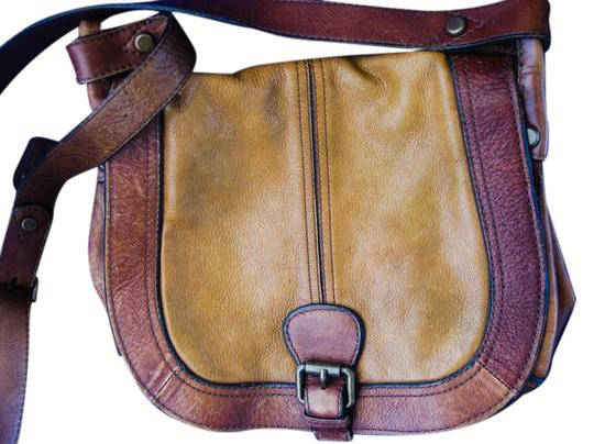 Preload https://item4.tradesy.com/images/fossil-vintage-indiana-jones-two-tone-distressed-leather-cross-body-bag-21259968-0-1.jpg?width=440&height=440