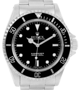 Rolex Rolex Submariner No Date Stainless Steel Automatic Mens Watch 14060