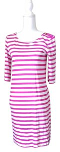 Juicy Couture short dress pink & white Stripes Short on Tradesy