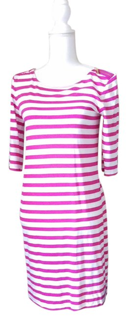 Preload https://item4.tradesy.com/images/juicy-couture-pink-and-white-stripes-women-short-casual-dress-size-4-s-21260023-0-1.jpg?width=400&height=650