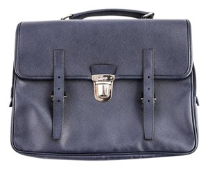 Prada Saffiano Briefcase Laptop Bag