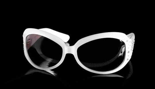 Oliver Peoples Oliver Peoples Sunglasses Isis Jeweled Crystals