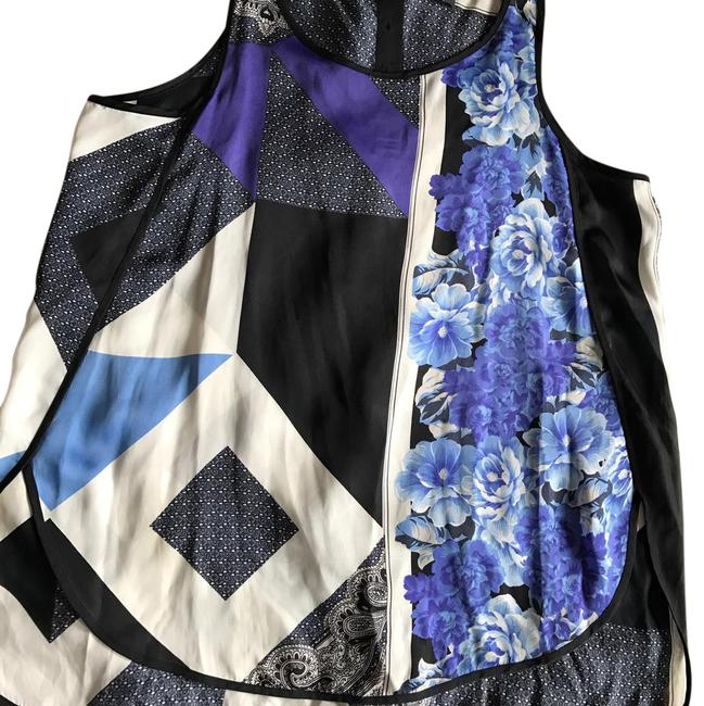 Preload https://img-static.tradesy.com/item/21260183/kenneth-cole-black-blue-print-sleeveless-blouse-size-12-l-0-1-650-650.jpg