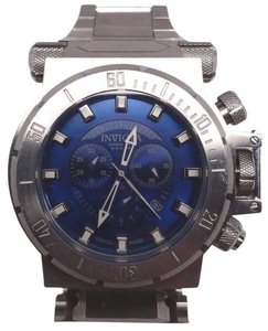 Invicta Mens 1939 Coalition Forces Chronograph Blue Dial Stainless Steel Watch
