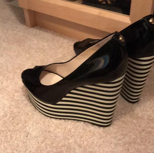 Michael Kors Collection Black Wedges