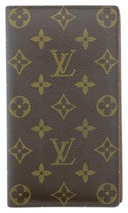 Louis Vuitton Louis Vuitton Monogram Porte Chequier Cartes Credit Wallet LV M62225