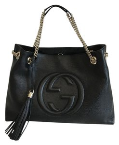 Gucci Soho Leather Shoulder Bags - Up to 70% off at Tradesy