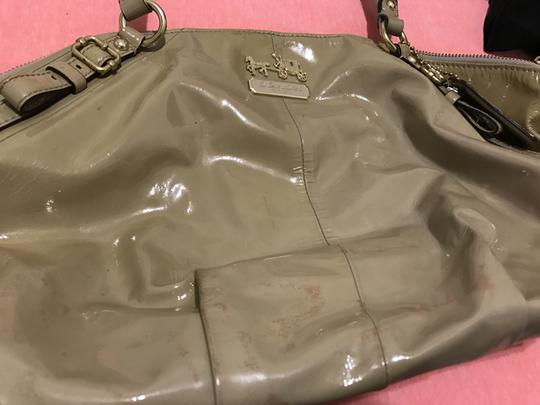 Coach Patent Leather Everydaybag Shoulderbag Satchel in Camel