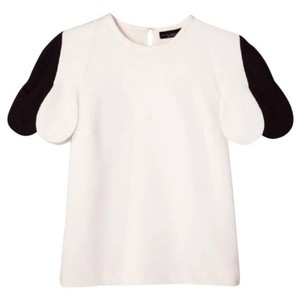 Victoria Beckham for Target T Shirt white black