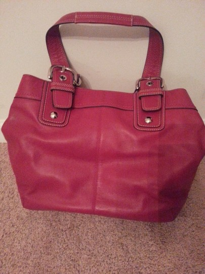 Coach Tote in Red