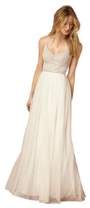 BHLDN Naya Beaded Tulle Beach Wedding Dress