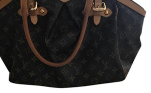 Louis Vuitton Tivoli Leather Tote in monogram