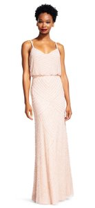 Adrianna Papell Art Deco Embellished Gown Bridesmaid Dress