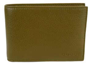 Gucci GUCCI 292534 Men's Leather Bifold Wallet, Classic Oil