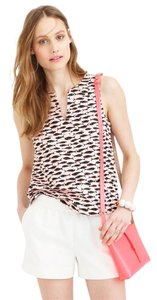 J.Crew Top Pink, Black, Orange