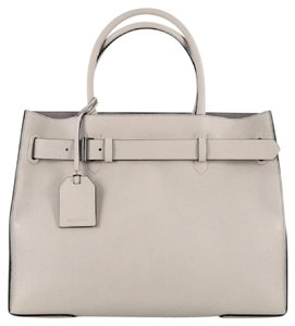 Reed Krakoff Leather Tote in Grey