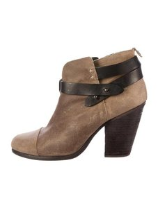 Rag & Bone Trendy Suede Taupe Boots