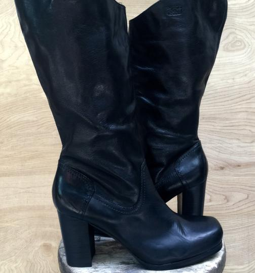 Other New Leather black Boots Image 4