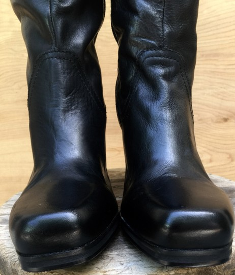 Other New Leather black Boots Image 5