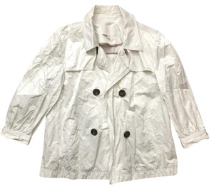 7 For All Mankind white Jacket