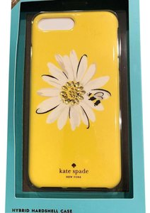 Kate Spade IPHONE 7 PLUS NWT DAISY GERMS RESIN CASE