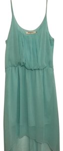 Annabelle short dress light blue/turquoise color on Tradesy