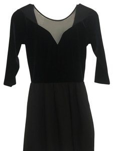 Divided by H&M short dress dark blue and black on Tradesy