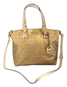 Michael Kors Next Day Shipping Tote in Gold
